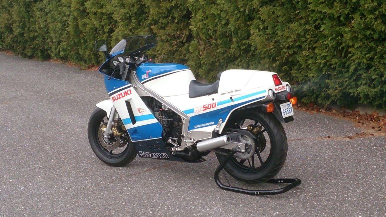 RG500 אופנוע 2 פעימות