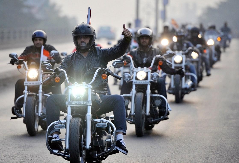 אופנוענים רוסים
