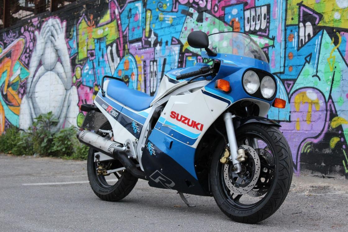 אופנוע מרוצים ראשון צילום: אופיר ברעם