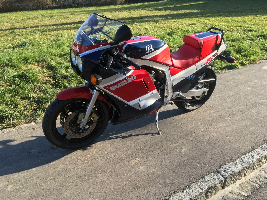 אופנוע אספנות: סוזוקי GSX-R1100 טרום יצור