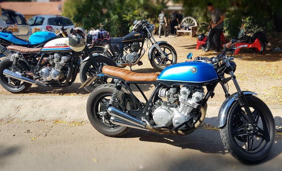 מפגש אופנועים מיוחד