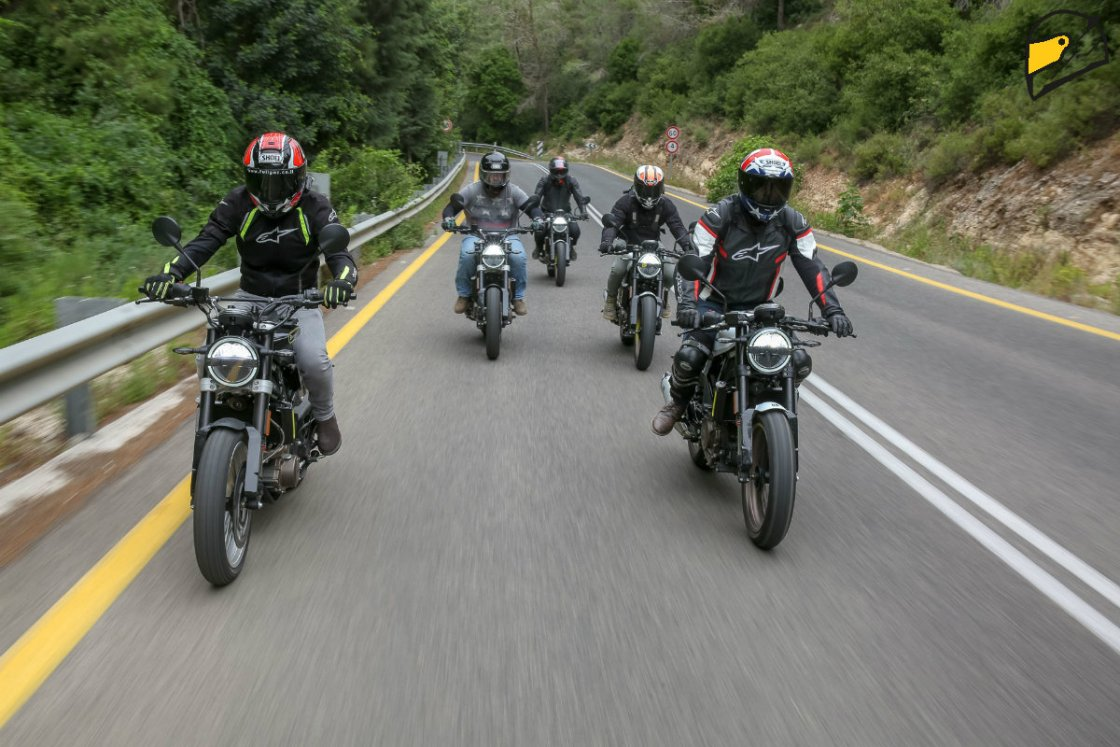 הרכיבה על אופנוע