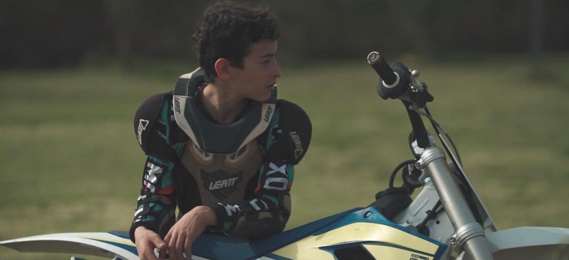 צילום: שי דרויאק. רוכב מוטוקרוס צעיר