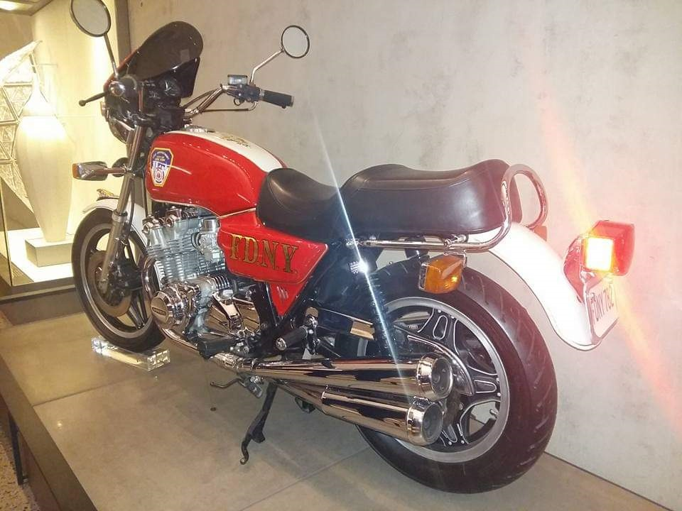 האופנוע ששופץ