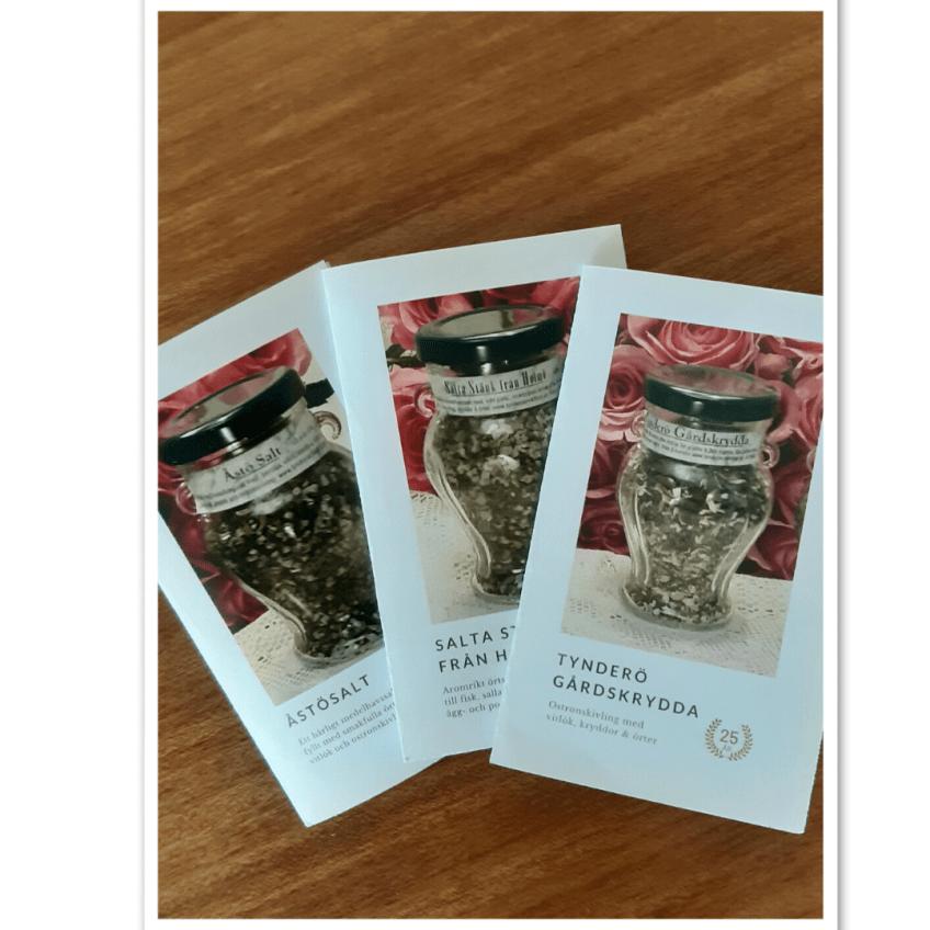 Tre kryddfavoriter presentkort