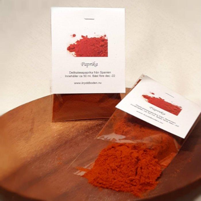 Paprika delikatess från Kryddboden Tynderö