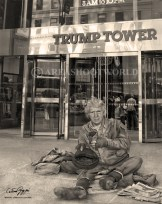 DONALD AT TRUMP TOWER