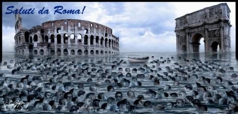 ITALIA SOMMERSA - SALUTI DA ROMA!
