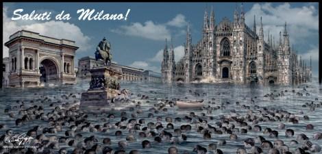ITALIA SOMMERSA - SALUTI DA MILANO!