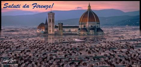 ITALIA SOMMERSA - SALUTI DA FIRENZE!