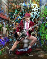 ANGUS YOUNG (AC/DC), guitarrist