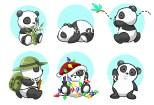 panda puppets