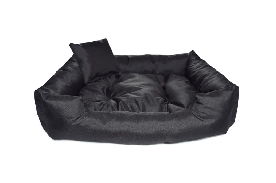 """Kanapa """"Standard"""" z wyjmowaną poduszką – kolor czarny"""