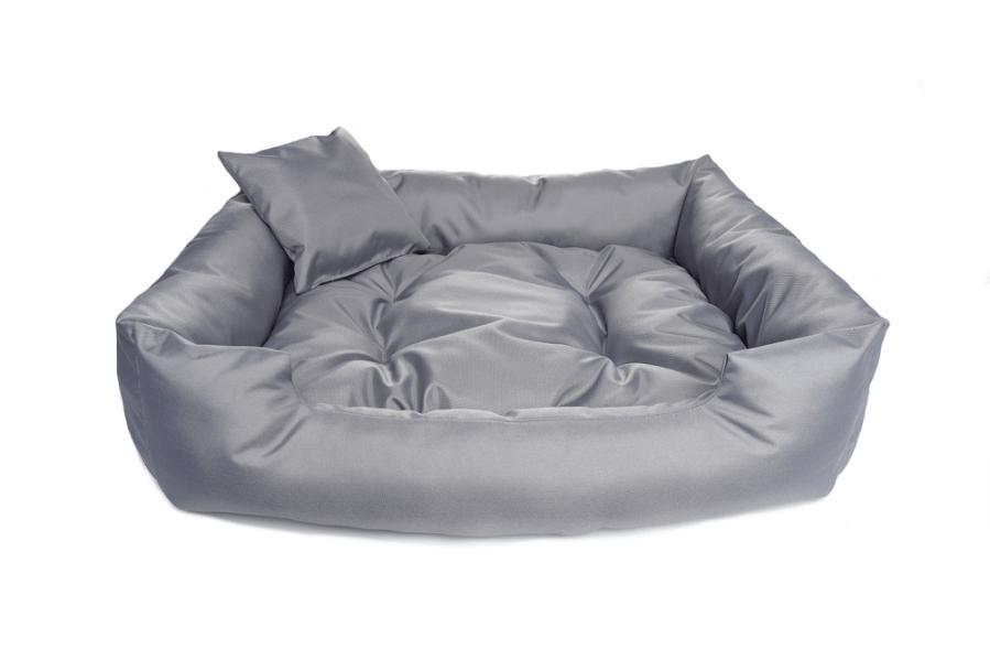 """Kanapa """"Standard"""" z wyjmowaną poduszką – kolor szary"""
