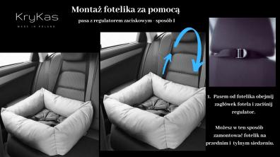 KryKas-montaż-fotelika-w-aucie-za-pomocą-pasa-z-regulatorem-sposób-1