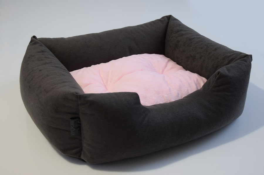 Sofa antyalergiczna dla małego pupila – MINKY i jednorożce – 50x40cm