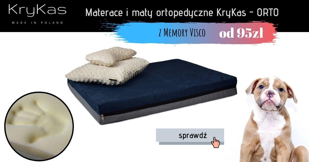 Legowiska ortopedyczne z memory KryKas