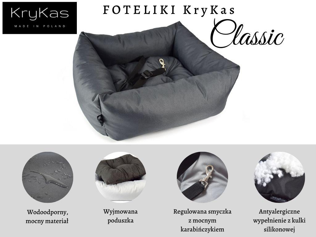 Foteliki KryKas Classic