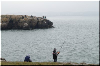 fishing on the Azov sea