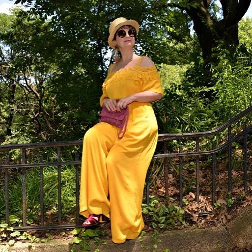 niceday todaypic mylook mystyle styleblogger style womenstyle womenover40 womensfashion yellowhellip
