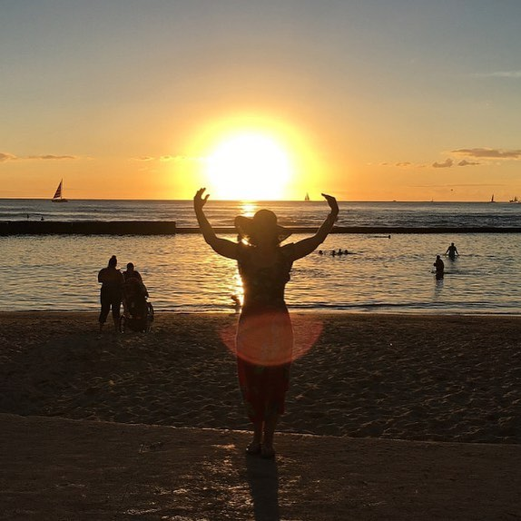 hi sunset hawaii beach beautiful mydaytoday hawaiistyle hawaiilife instahawaii instadayhellip