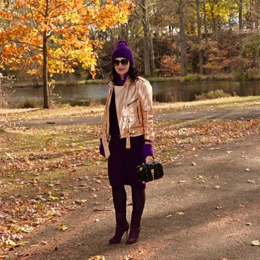 newpost blog hello today fashionblog style metallicjacket styleblogger mystyle modnapolkahellip