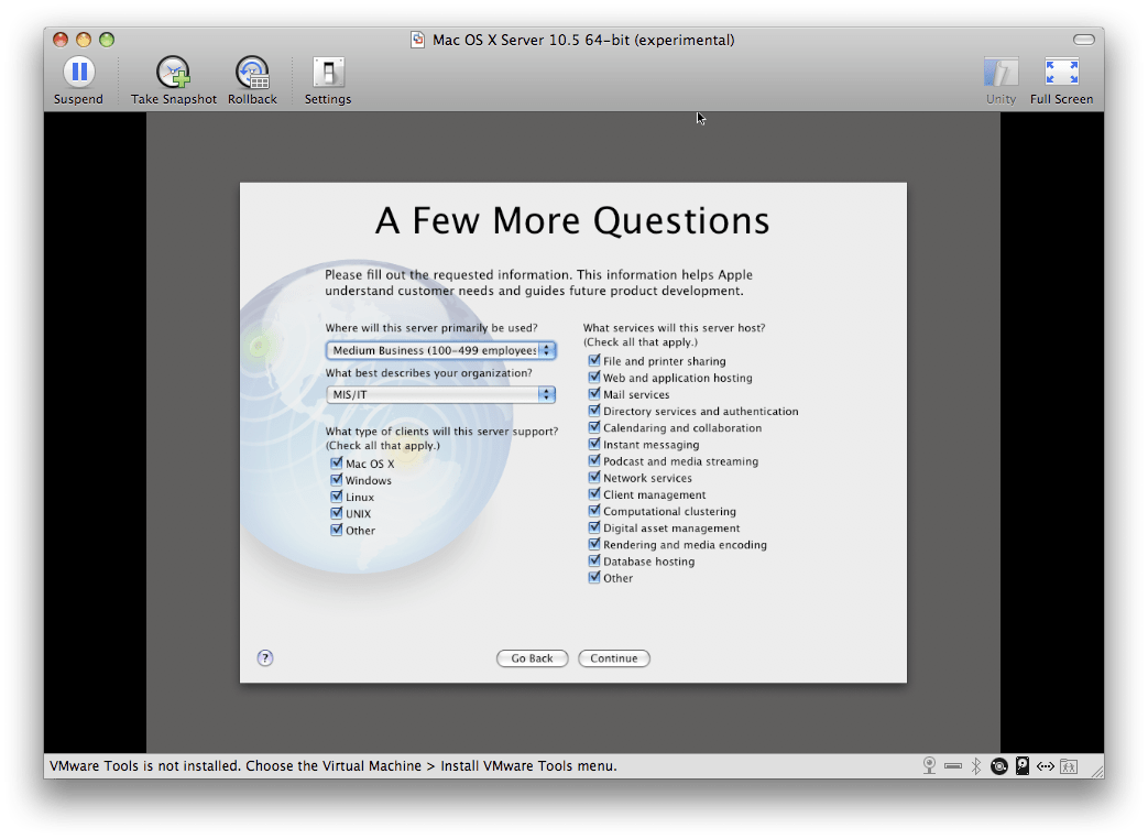 Mac OS X Server: Installing the OS - krypted