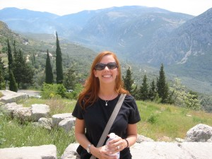 Lisa, cute as always (but in Delphi)