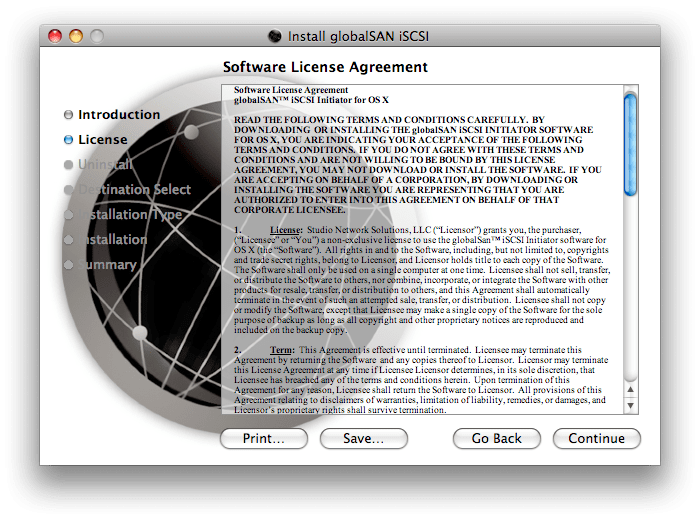 Globalsan iscsi initiator keygen