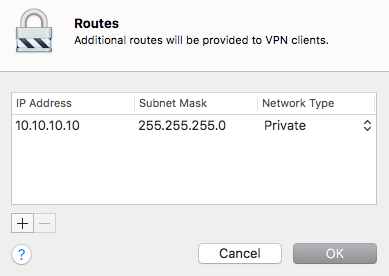 "One thought on ""Configure The VPN Service In macOS Server 5.2"""