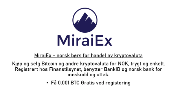 miraiex bitcoin kryptovaluta exchange