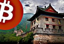 Čína - ťažba ktryptomien