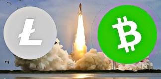litecoin bitcoin cash up