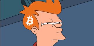fry pochybuje o bitcoine