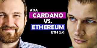cardano ada vs. ethereum eth