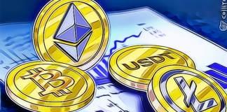 Bitcoin vs. ethereum vs. tether