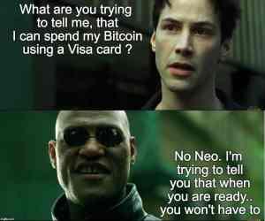Neo, Morpheus a Bitcoin