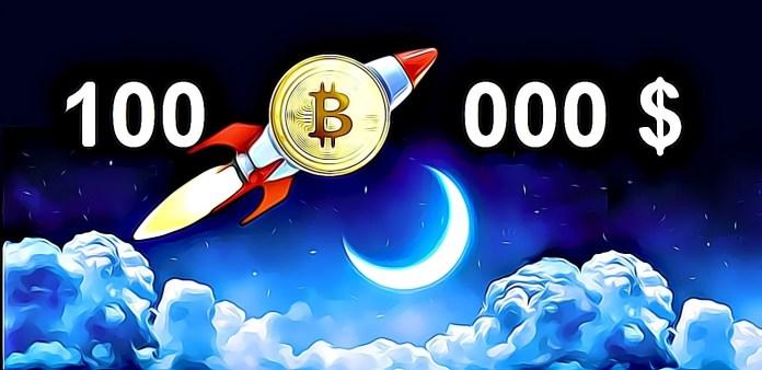 Bitcoin pôjde na 100 000 USD
