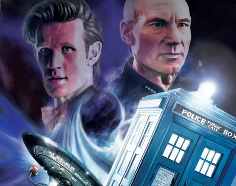 IDW's Doctor Who / Star Trek Crossover Starts May 2012