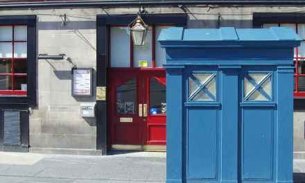 Live Near Edinburgh?  Buy Your Own TARDIS