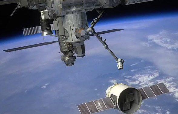 Breaking News:  SpaceX's Dragon Docking In Progress