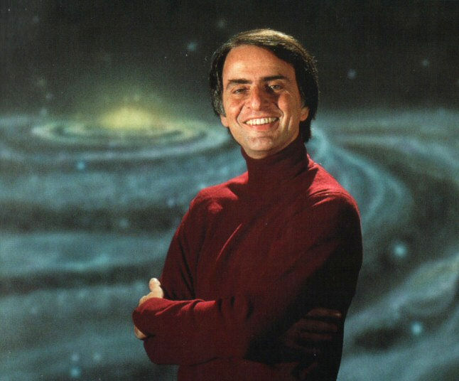 Library of Congress Acquires Carl Sagan Papers