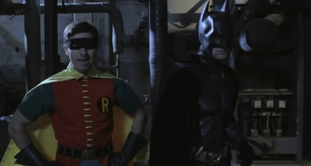 Video Of the Day! The Dark Knight & 60's Robin