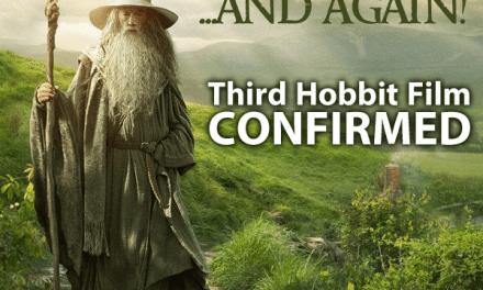 Peter Jackson Confirms Third 'Hobbit' Film