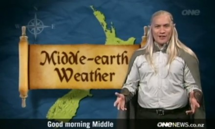 Video Of the Day: New Zealand Weather In Elvish