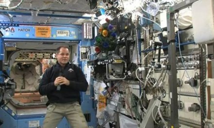 Commander Kevin Ford Offers Holiday Greetings From Space