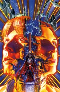 Alex Ross does the honors in this stunning cover art for Dark Horse Comics 'Star Wars #1'.