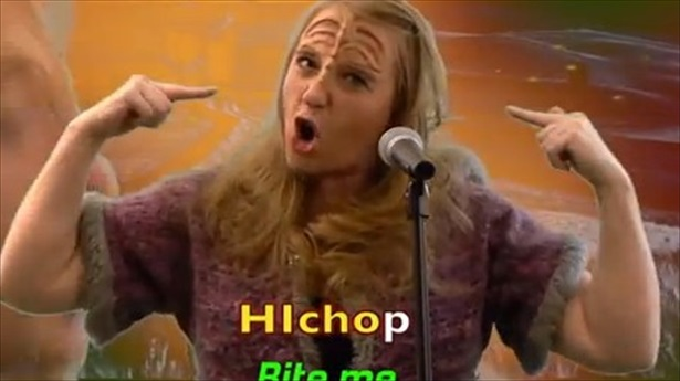 Video Of The Day: HIchop! ('Kiss Me' In Klingon)