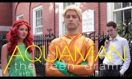 "BleedingCool's ""Aquaman: The Teen Drama"""