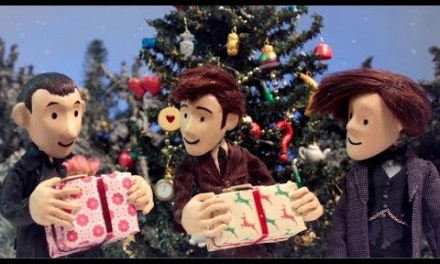 Videos of the Day:  It's a Doctor Who Christmas